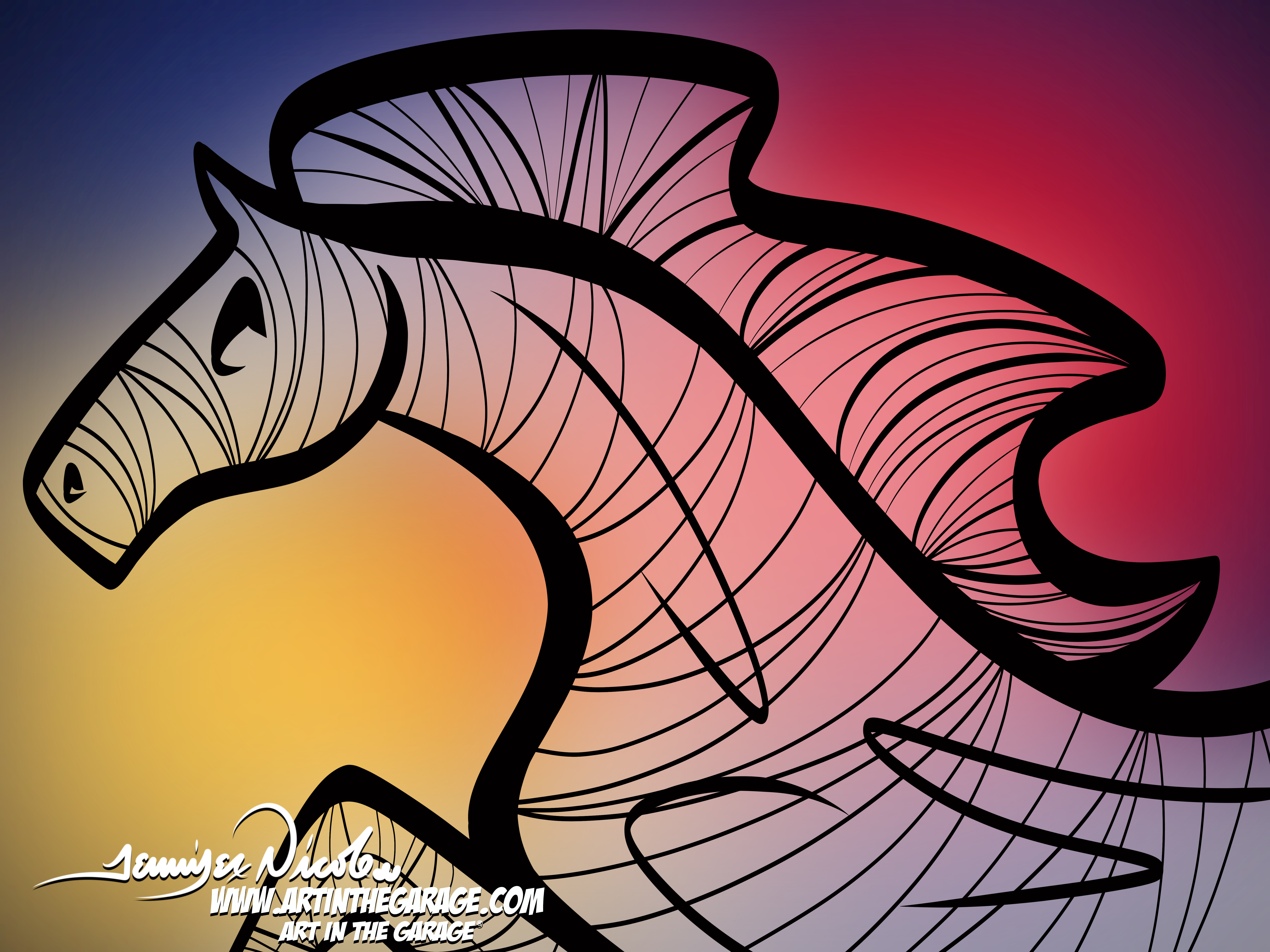 1-21-21 The Minimalistic Horse
