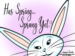 3-16-21 Has Spring Sprung Yet_