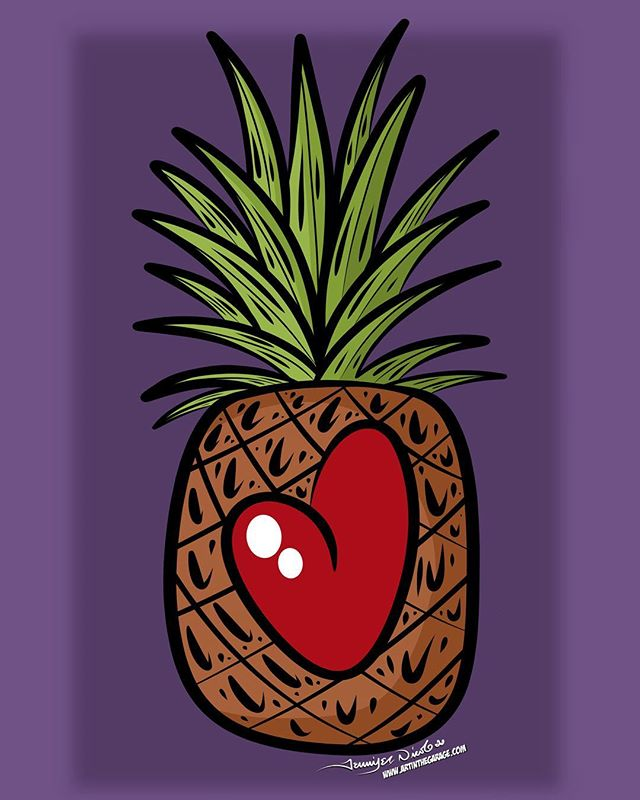 9-18-17 Pineapple Love