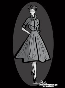 3-9-21 Noir Woman