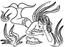 4-30-13 Mermaid