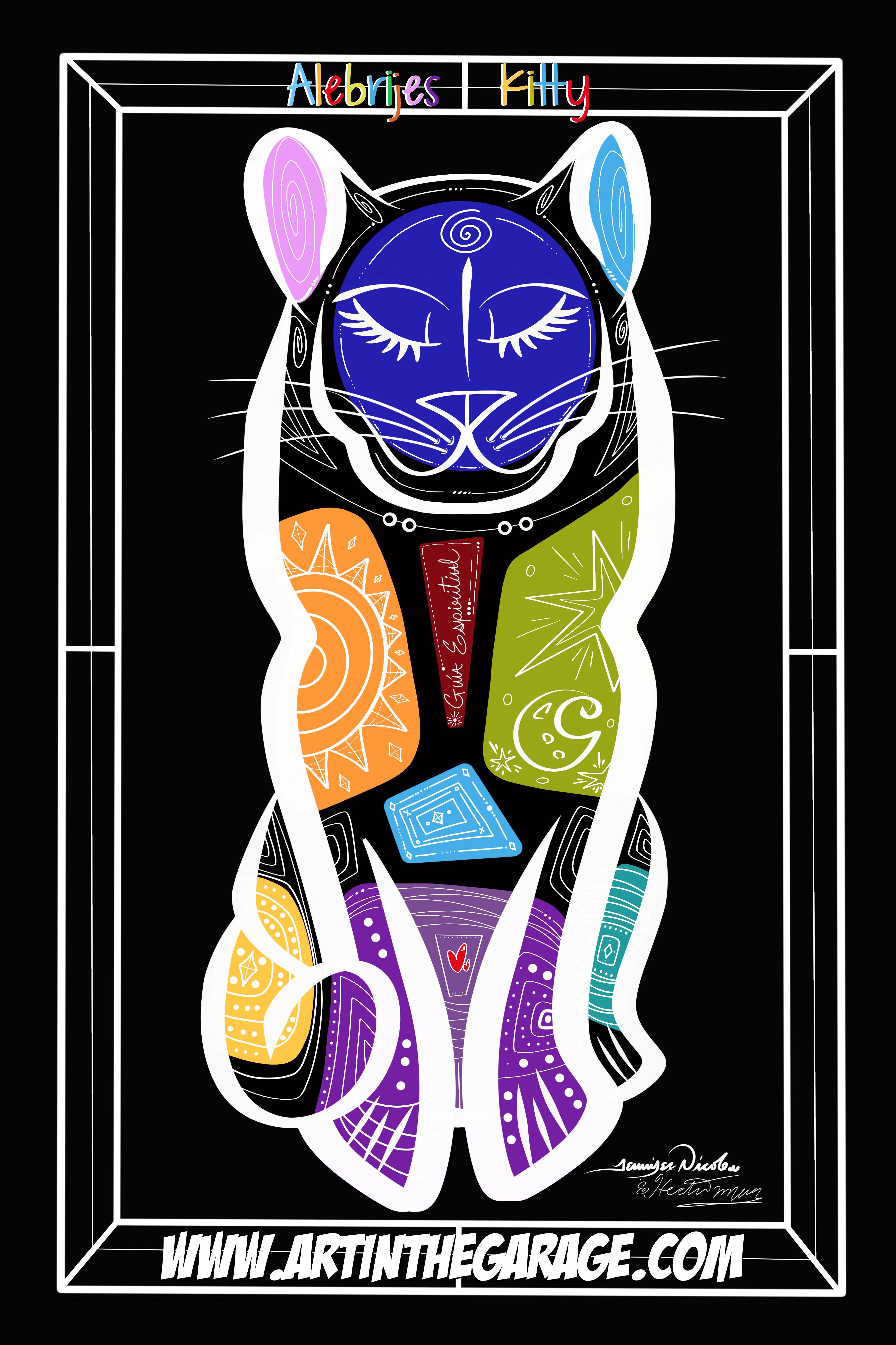 12-9-19 Alebrije Kitty