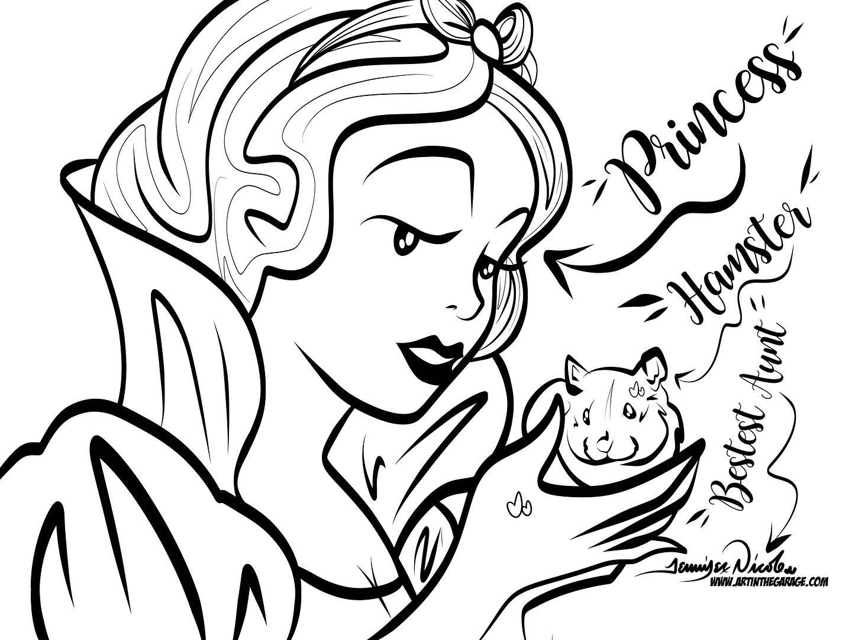 3-8-20 The Disney Princess the Hamster &