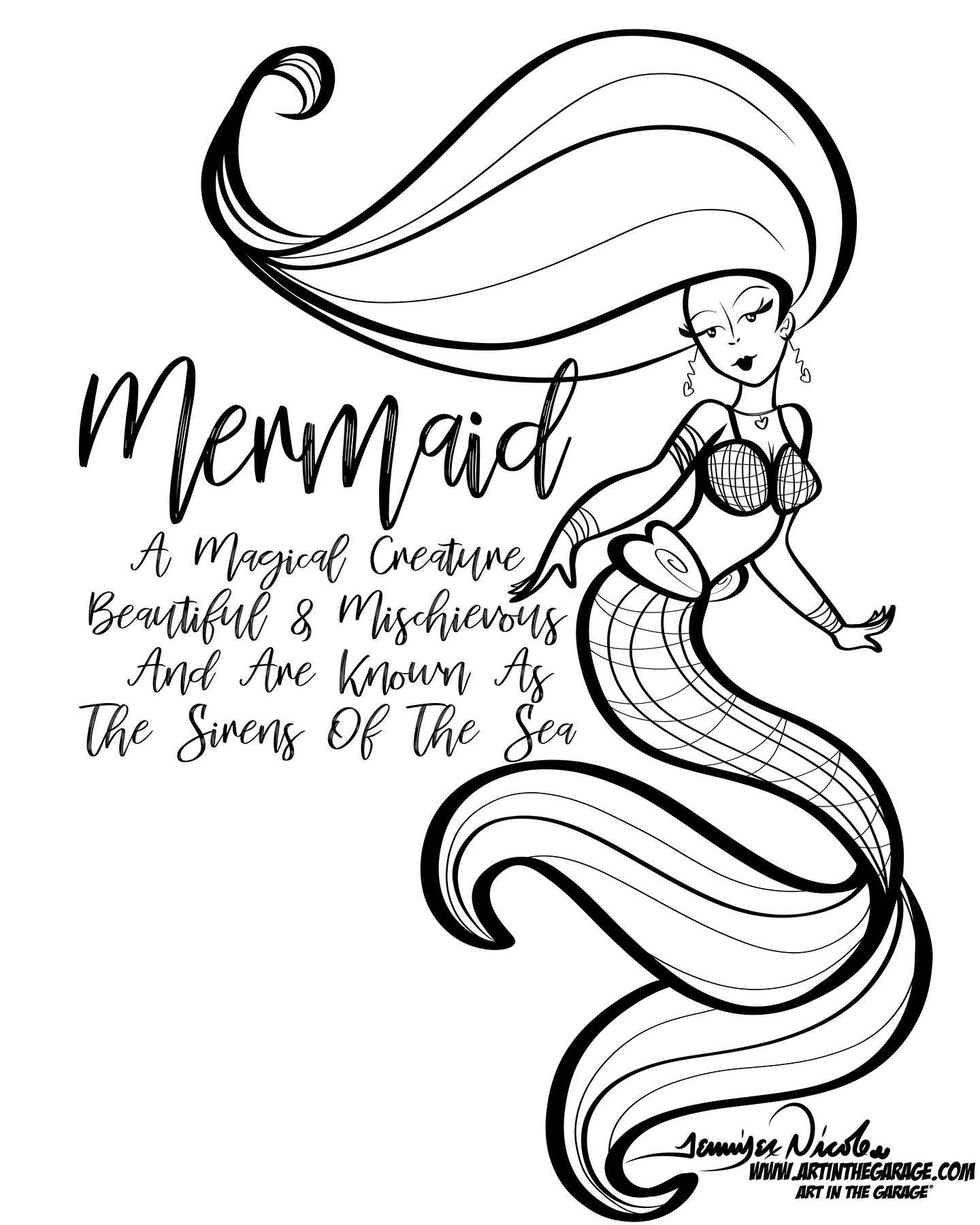1-17-21 Mermaid