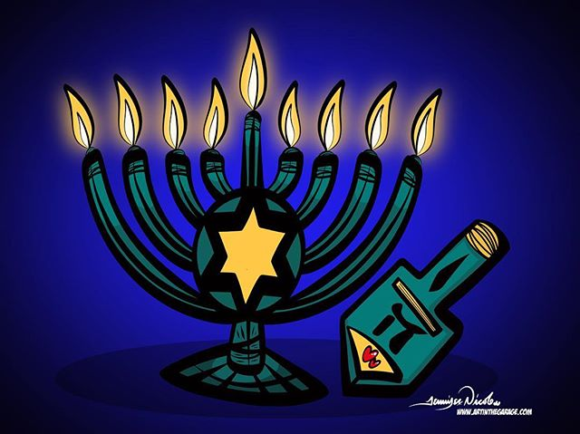 12-5-18 Happy Hanukkah