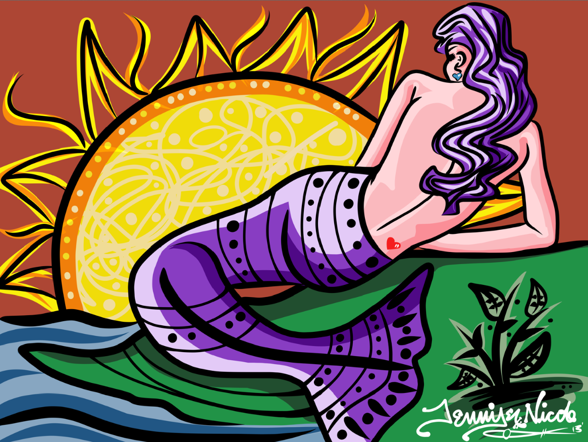 3-12-13 Mermaid Sunset