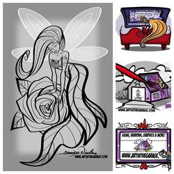 5-2-19 Fairy Outline