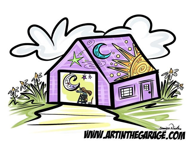 4-10-18 Art In The Garage LOGO.