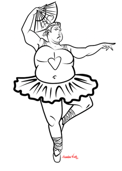 4-27-14 Samurai Ballerina Sketch.png