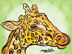 8-8-13 Giraffe Completed