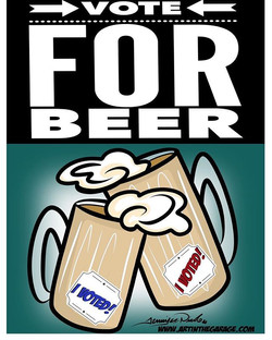 11-8-16 Vote For Beer