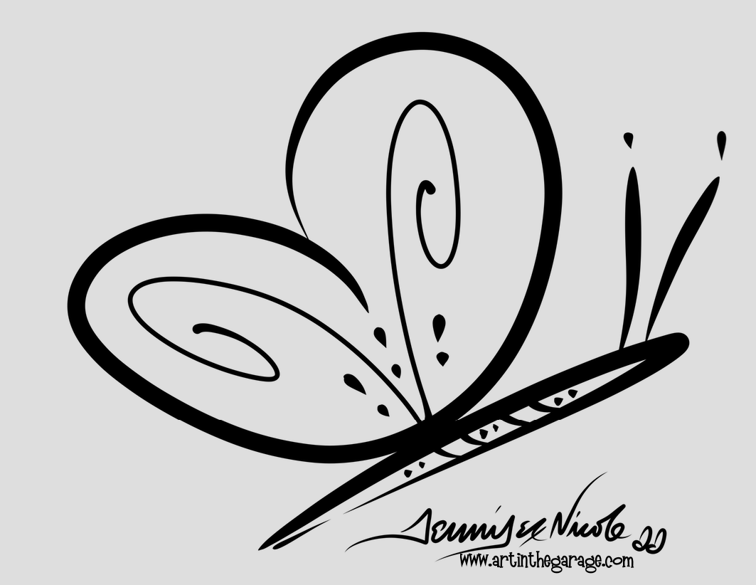 11-13-15 Quick Butterfly Outline