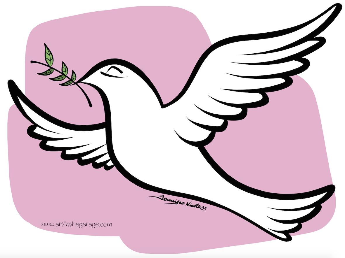 8-10-15 Peace Dove