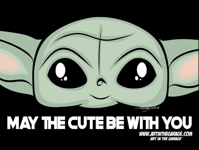 9-19-20 Baby Yoda Cute