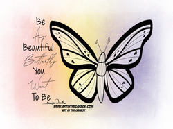 2-18-21 Be A Beautiful Butterfly