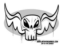 5-3-21 Skull