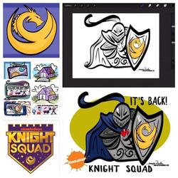 9-22-18 IT'S BACK! Knight Squad On Nicke