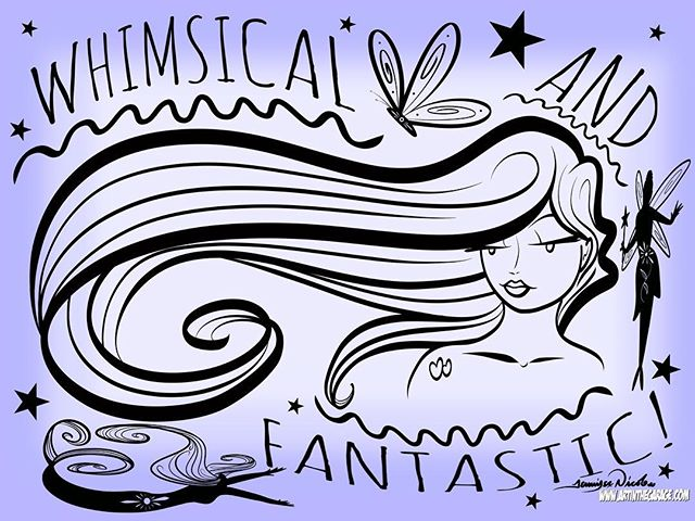 9-4-18 Whimsical & Fantastic! I think th