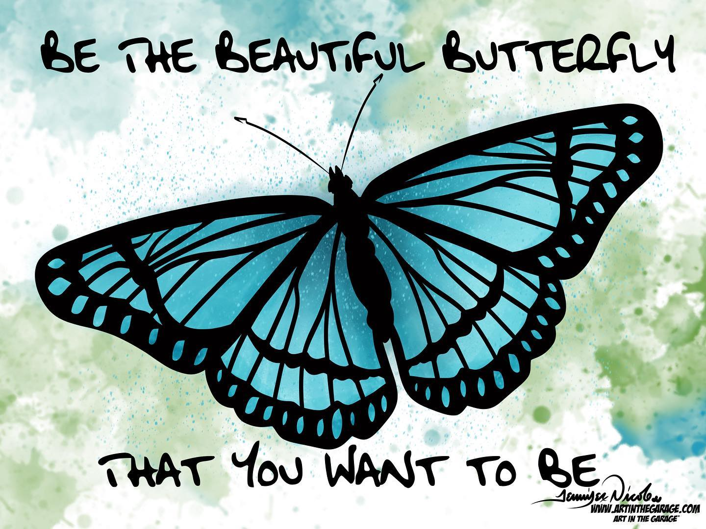 11-24-20 Be That Beautiful Butterfly Tha