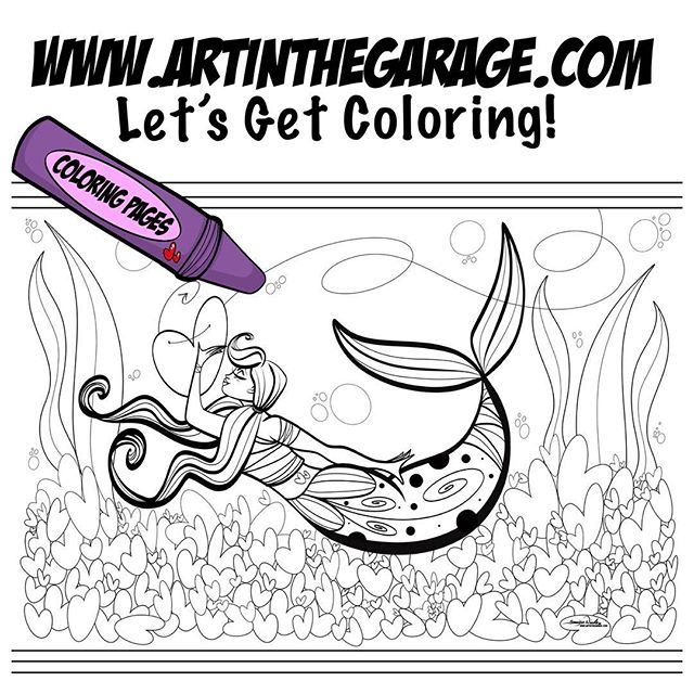 4-10-19 How To Catch A Mermaid Coloring