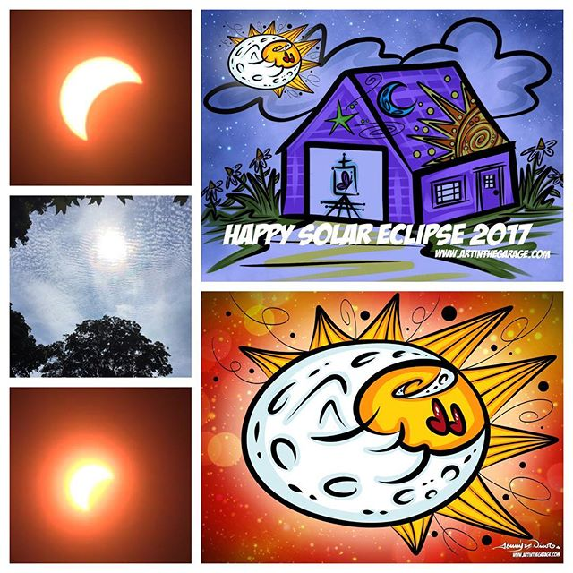 8-21-17 Happy Solar Eclipse!!!
