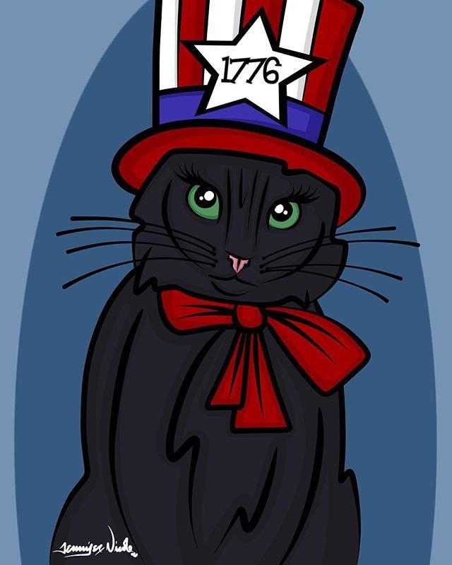 7-4-16 American Kitty