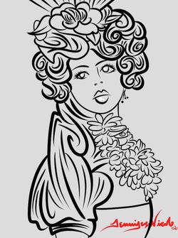 8-1-14 Effie Trinkets Sketch.png