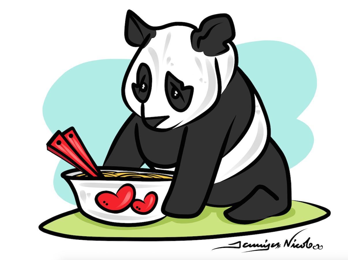 1-8-15 Panda Clipart
