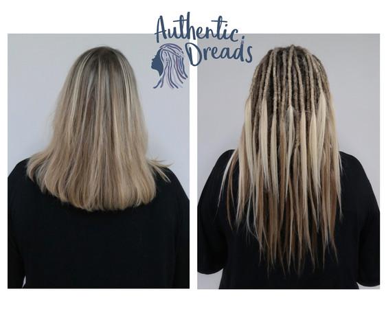 Blond Natural Dreadlocks