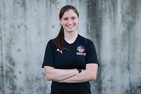 """Kayla is the Director of Member Experience for Eagleclaw Football Club. In this role,  Kayla is singularly focused on ensuring that each player and club family has a superior sporting experience. Player development at Eagleclaw is an important journey leading to many possible soccer destinations.  Kayla's commitment is ensuring the """"quality of the ride"""" for each player's unique journey.  She helps support and advocate for all members within the club. From the moment a player and family joins Eagleclaw FC, Kayla works to ensure the experience is at a superior level of engagement, education and fun, exceeding hopes and expectations. She also works closely with the Executive Director and Director of Coaching to help create solutions for any and all concerns Club members may have.   Kayla is a former collegiate soccer player. She began playing at a young age in Washington where she was recognized and recruited to play at Trinity Lutheran College for four years on a soccer scholarship. Kayla began her coaching journey right out of college working alongside her father, Darren Sawatzky, who is currently Head Coach of the Richmond Kickers playing in USL League One. Working with her father, Kayla experienced the joys of helping develop young soccer players and the importance of providing a high quality education in a high quality environment.   Kayla is also the Head Coach of the Girls 06/7 Advanced Academy and the Girls 08/9 Primary Academy teams."""