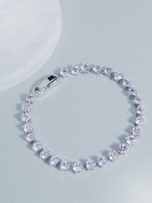 Abbie Round Stone Bracelet
