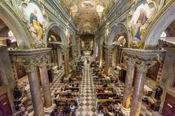 La chiesa vista dall'organo
