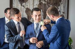 I testimoni e lo sposo