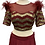 Thumbnail: Plum Red Georgette Silk Lehenga