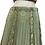 Thumbnail: Mint Green Chikan Georgette Lehenga