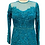 Thumbnail: Teal Beaded Gown