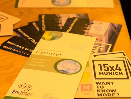 Let´s talk about Science - ForInter mit 15x4 Munich