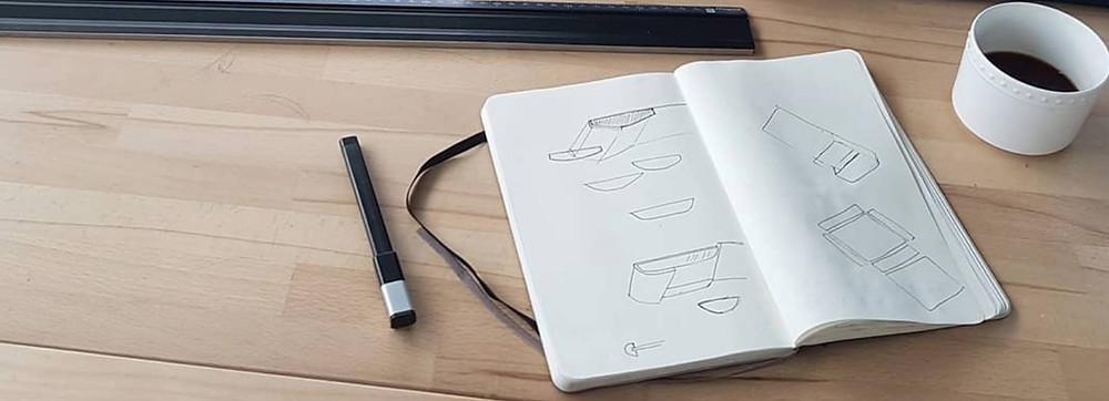 Nomadchik - Croquis de la Boîte à chemise par Uniqui Designer