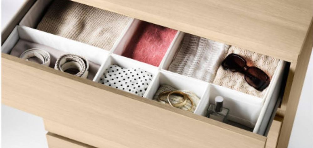 Nomadchik -Les 6 conseils indispensables pour préparer vos bagages - Les casiers Skubb d'Ikea