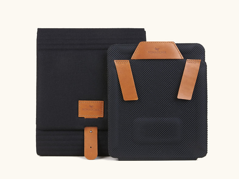 La Pack Boîte à chemise Nomadchik 1 nuit Whisky, pour plier et transporter chemise sans la froisser