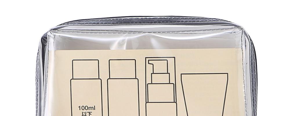 Nomadchik - Les 6 conseils indispensables pour préparer vos bagages - la trousse de toilette Muji