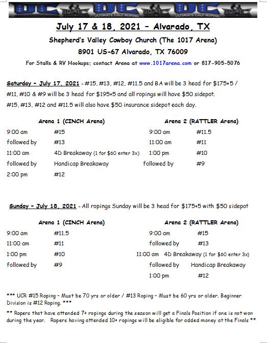 July 17 & 18, 2021 - Alvarado, TX .png