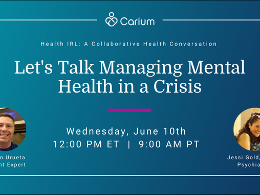 Managing Mental Health in a Crisis