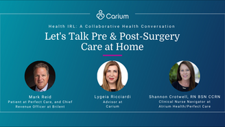Pre & Post-Surgery Care at Home