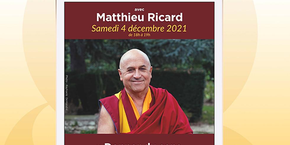Conférence avec Matthieu Ricard