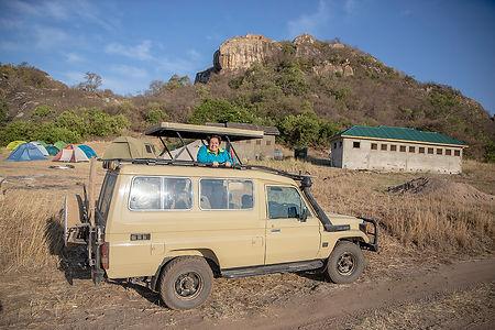 Safari vehicle | Lobo Public Campsite | Serengeti | Shots and Tales