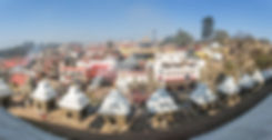 Nepal, Kathmandu, Pashupatinath Temple, Cremation Ghats
