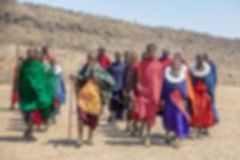 Shots and Tales | Maasai Tribe People Singing and Dancing at a Maasai Village near Serengeti Tanzania