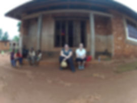 Children and tourists at the village of Kigunda, red earth village tour, Zanzibar, Tanzania | Shots and Tales