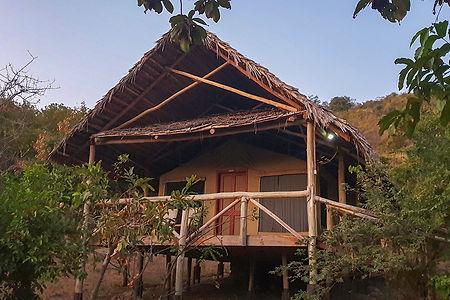 Tent at Sangaiwe Lodge | Tanzania | Tarangire National Park | Shots and Tales